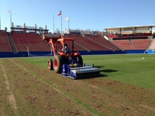 KORO Recycle Dresser on FC Dallas Stadium