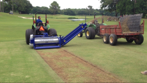 Celebration Bermudagrass Cleaning w/ KORO Universe at Shallowest Depth