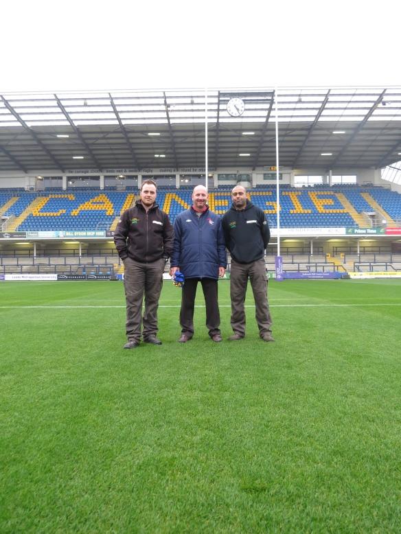 Mr. Ryan Golding & Mr. Jason Booth of Headingley Carnegie Stadium