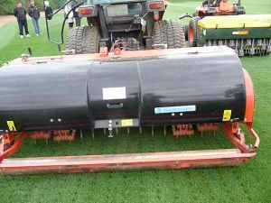 Deep tine aeration